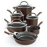 Macys circulon symmetry 11 piece cookware set plus $180 worth 3 piece bonus set $225 with fs