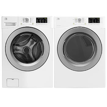 SEARS Kenmore 4.3 cu. ft. Front-Load Washer and 7.3 cu. ft. Dryer w/ Sensor Dry 799 with $210 back in points