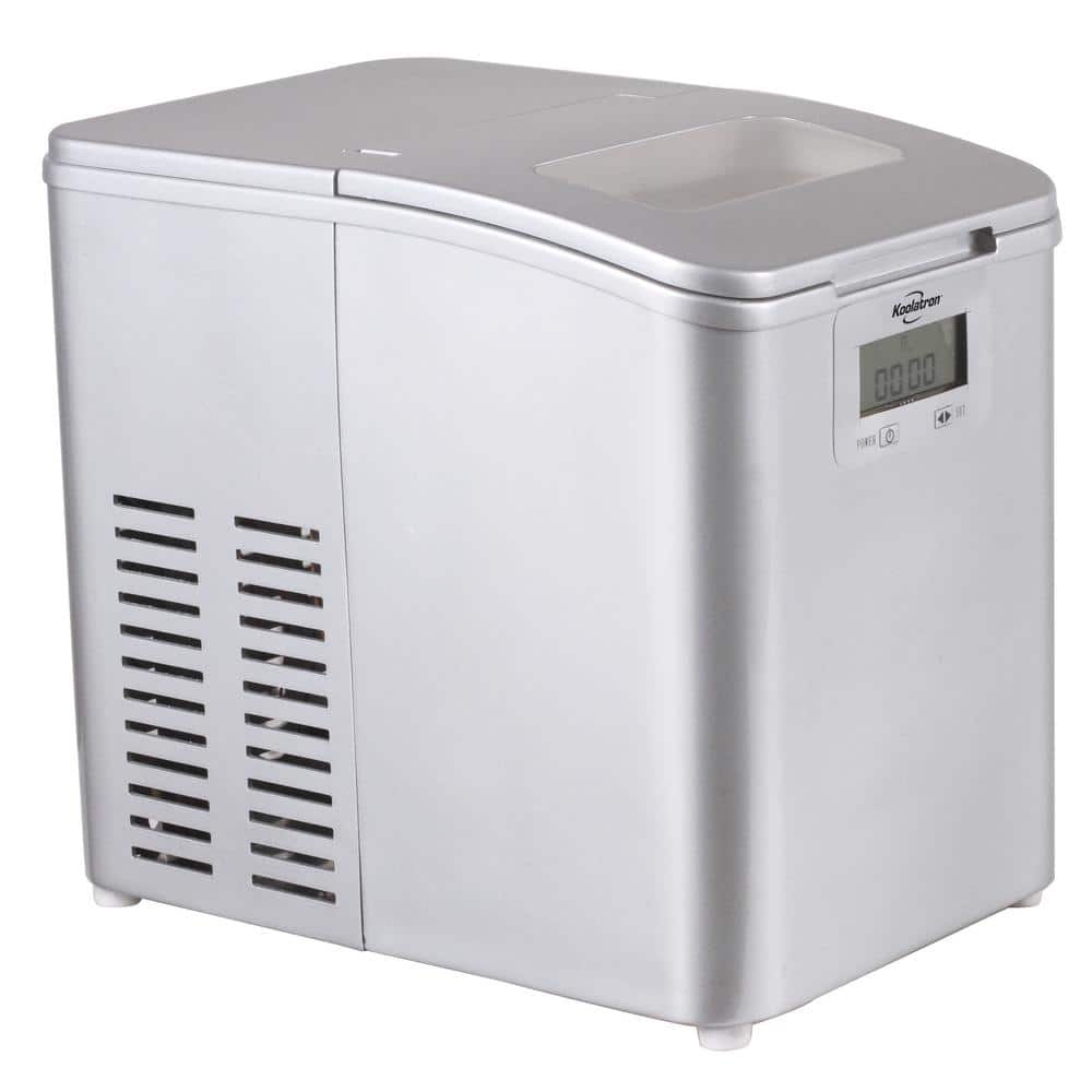 Target  Koolatron Stainless Steel Ice Maker $73 with FS