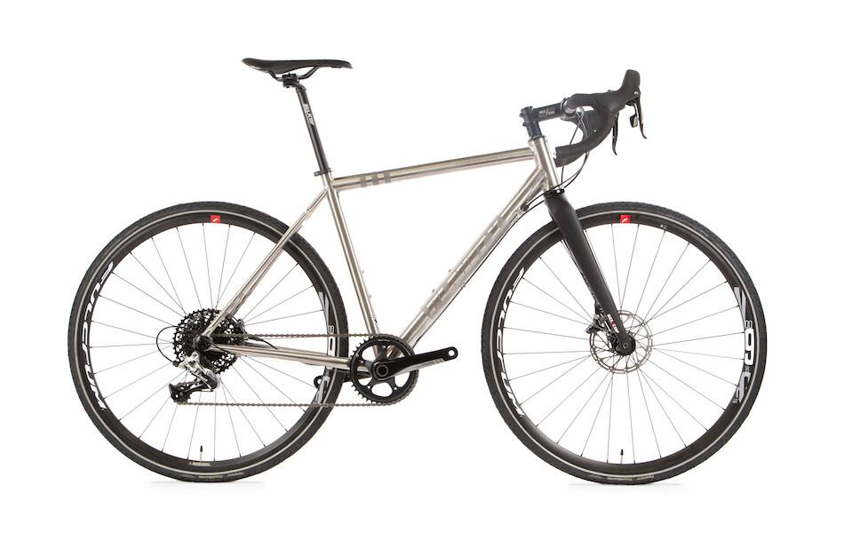Planet X Titanium Road Bike for $1,900 plus $215 shipping to US ($2,115 total) $2115