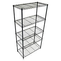 """Target Deal: 2 x 5 Tier Wire Shelving Unit 72 x 36 x 18"""" at Target - $61.54 + tax Free Store Pick Up - Now Even Lower!"""
