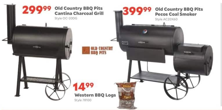 Academy Sports + Outdoors Black Friday: Old Country BBQ Pits Cantina Charcoal Grill for $299.99