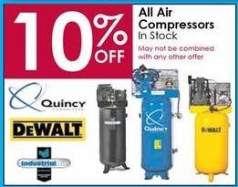 Rural King Air Compressor >> Rural King Black Friday: Quincy, DeWalt & More Air Compressors - 10% Off - Slickdeals.net