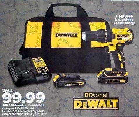 True Value Black Friday: DeWalt Max Compact Drill Driver, Lithium-Ion, 20-Volt for $99.99