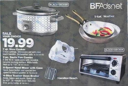 True Value Black Friday: Black & Decker 4-Slice Toaster Oven/Broiler for $19.99