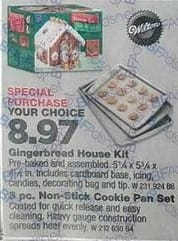 True Value Black Friday: Wilton Petite Gingerbread House Kit for $8.97