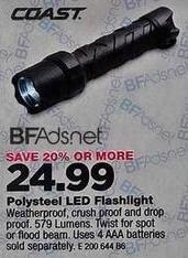 True Value Black Friday: Coast LED Flashlight for $24.99