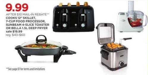 JCPenney Black Friday: Sunbeam 4-Slice Toaster for $9.99 after $10.00 rebate
