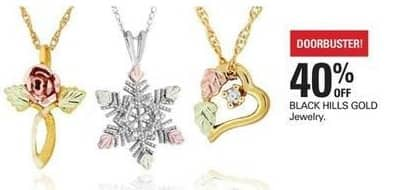 Shopko Black Friday: BLACK HILLS GOLD Jewelry - 40% Off