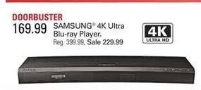 Shopko Black Friday: Samsung 4K Ultra Blu-ray Player for $169.99
