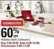 Shopko Black Friday: Holiday Bath Collection for $3.99 - $11.99
