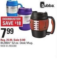 Shopko Black Friday: Bubba 52oz. Desk Mug for $7.99