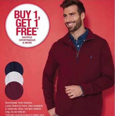 Belk Black Friday: Nautica, Lucky Brand & More Sportswear for Him - B1G1 Free