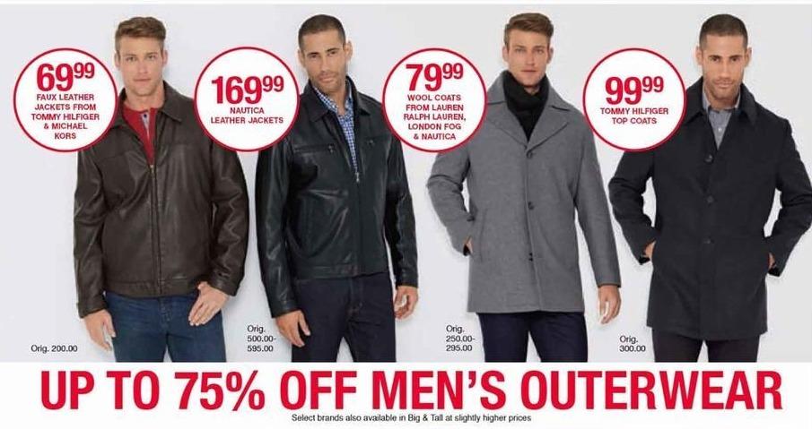 Belk Black Friday: Tommy Hilfiger & Michael Kors Faux Leather Jacket for Him for $69.99