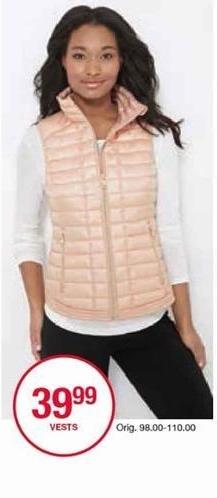 Belk Black Friday: Vests for Her for $39.99