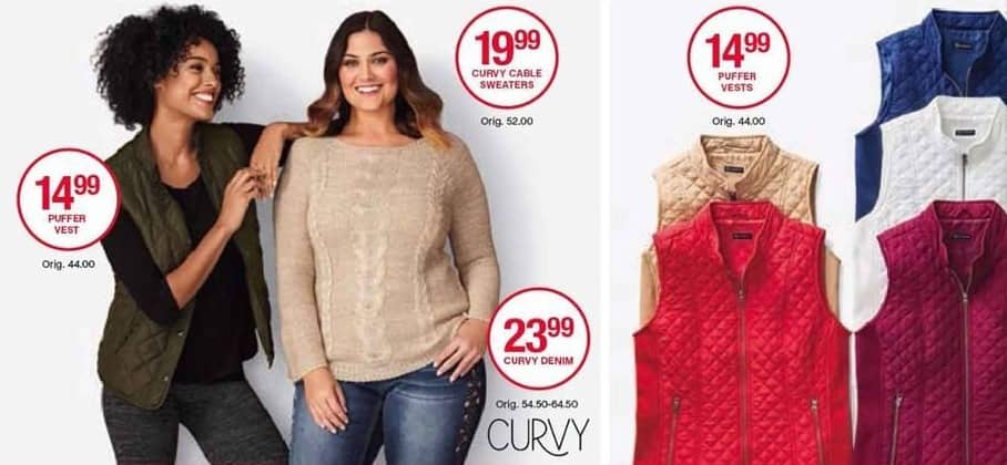 Belk Black Friday: New Directions Curvy Cable Sweaters for Her for $19.99