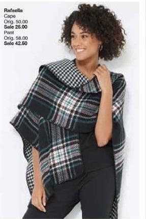 Belk Black Friday: Rafaella Cape for Her for $25.00
