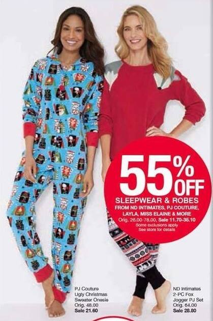 4fa6e77380 Belk Black Friday  Sleepwear   Robes from ND Intimates