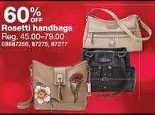 Sears Black Friday: Rosetti Handbags - 60% Off