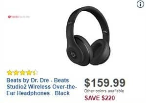 Best Buy Black Friday: Beats by Dr. Dre Beats Studio2 Wireless Over-the-Ear Headphones for $159.99
