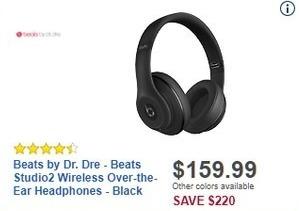 Beats wireless over ear headphones black friday