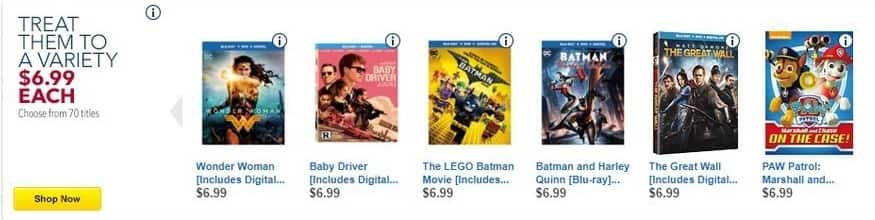 Best Buy Black Friday: Wonder Woman, Baby Driver, The LEGO