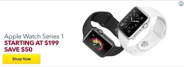 Best Buy Black Friday: Apple Watch Series 1 - $199 & Up