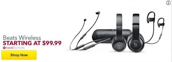 Best Buy Black Friday: Beats by Dr. Dre - Assorted Wireless Headphones & Speakers - $99.99 & Up
