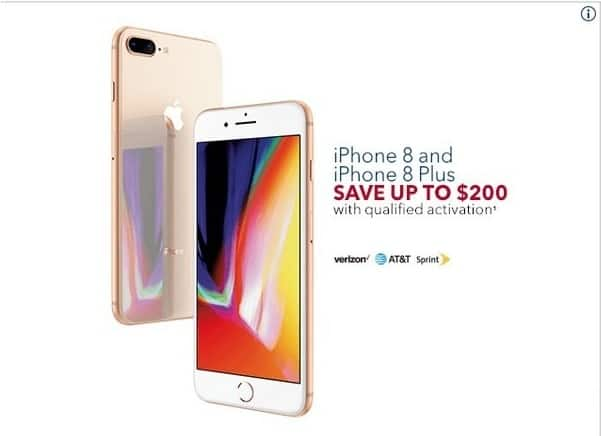 huge discount 9c126 c93ad Best Buy Black Friday: iPhone 8 & iPhone Plus w/ Qualified ...