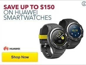 Best Buy Black Friday: Huawei Smartwatches - Save up to $150