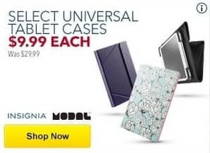Best Buy Black Friday: Select Insignia and Modal Universal Tablet Cases for $9.99