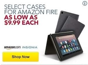 Best Buy Black Friday: Select Amazon and Insignia Amazon Fire Cases - $9.99 & Up