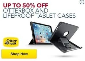 Best Buy Black Friday: Otterbox and Lifeproof Tablet Cases - Up to 50% Off