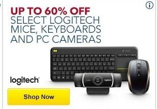 Best Buy Black Friday: Select Logitech Mice, Keyboards & PC Cameras - Up to 60% Off