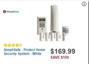 best buy black friday simplisafe protect home security