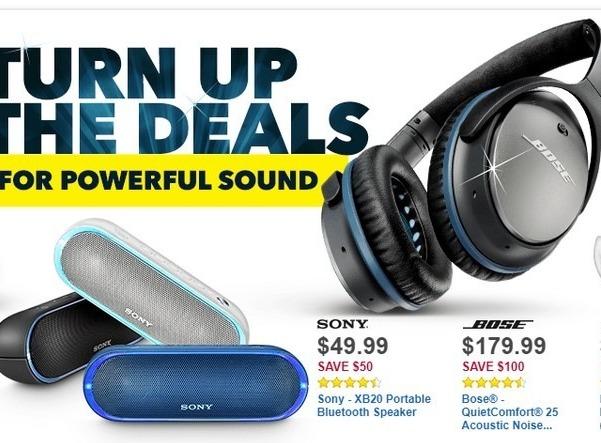 Best Buy Black Friday: Sony XB20 Portable Bluetooth Speaker for $49.99