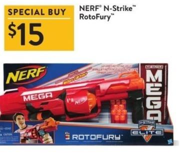 Walmart Black Friday: Nerf N-Strike RotoFury for $15.00