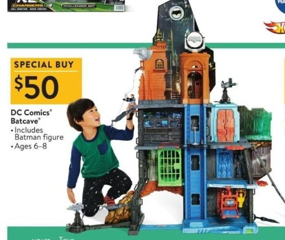 Walmart Black Friday: DC Comics Batcave for $50.00