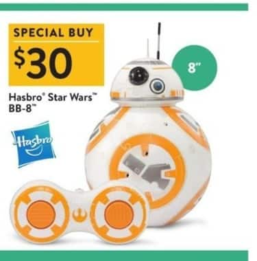 Walmart Black Friday: Hasbro Star Wars Remote Control BB-8 for $30.00