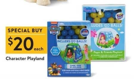 Walmart Black Friday: Character Playsets for $20.00
