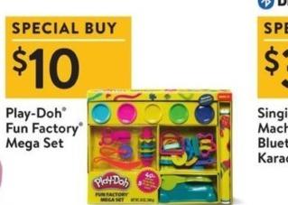 Walmart Black Friday: Play-Doh Fun Factory Mega Set for $10.00