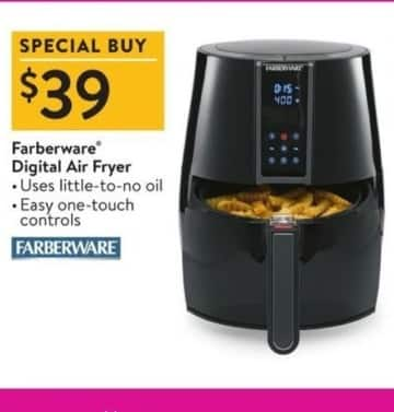 Walmart Black Friday: Farberware Digital Air Fryer for $39.00