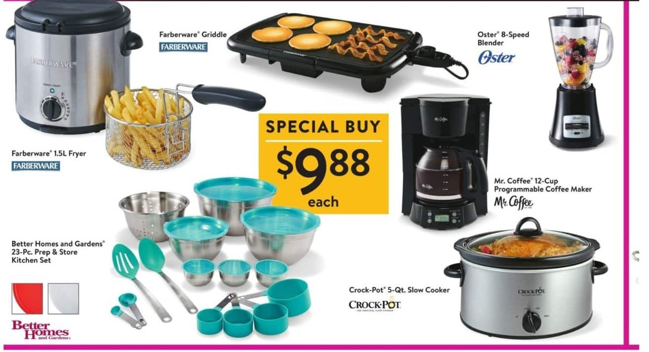 Walmart Black Friday: Better Homes & Gardens 23-pc. Teal Prep & Store Kitchen Set for $9.88