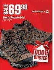 Dicks Sporting Goods Black Friday: Merrell Pulsate Mid Shoes for Men for $69.98