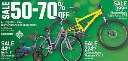 "Dicks Sporting Goods Black Friday: Diamondback Adult Atroz 27.5"" Bike for $399.98"