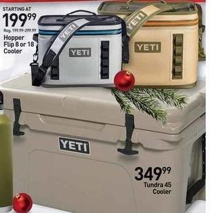 Dicks Sporting Goods Black Friday: Yeti Hopper Flip 8 or 18 Cooler - $199.99 & Up