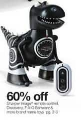 Stage Stores Black Friday: Sharper Image Remote Control Discovery, FAO Schwarz & More Brand Name Toys - 60% Off
