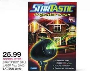 Stage Stores Black Friday: Startastic Still Projector Laser for $25.99