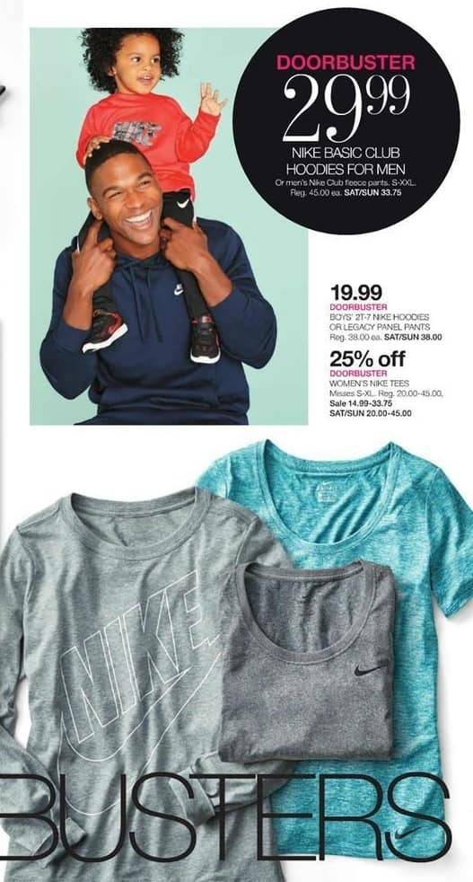 Stage Stores Black Friday: Nike Tees for Women - 25% Off