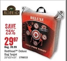 Bass Pro Shops Black Friday: RedHead Deluxe Field Point Bag Target for $29.97